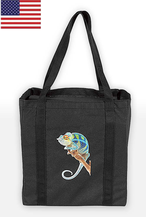 Cricket Non-Woven PP Grocery Shopping Tote Bag 12x8x13