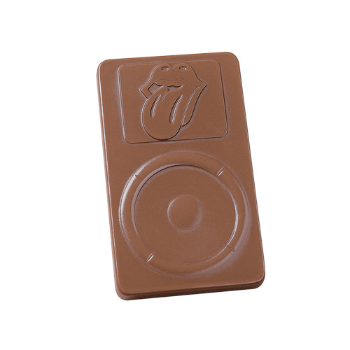 2 oz Custom Chocolate MP3 Player