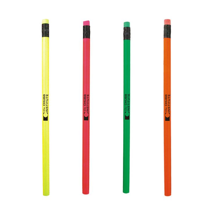 Round Neon #2 Pencil