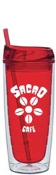 20oz Red Interior Cool Cup