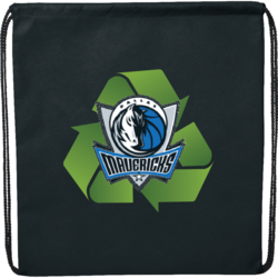 Evergreen Drawstring Backpack
