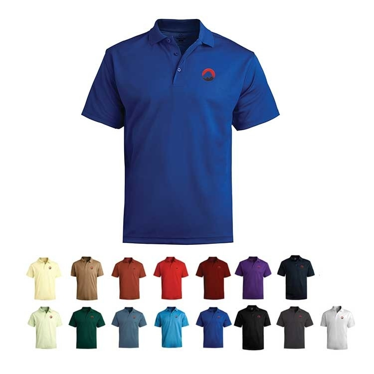 Active Style Men\'s Performance Polo