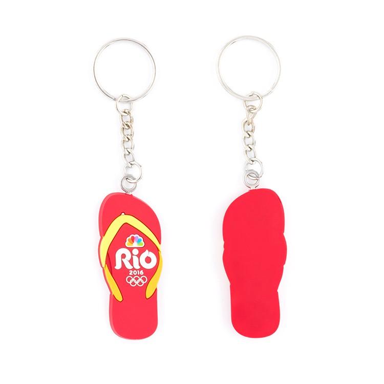 Soft Rubber Custom Keychain