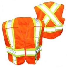 Ahlborn Vest45 High Visibility Cross Back Safety Vest