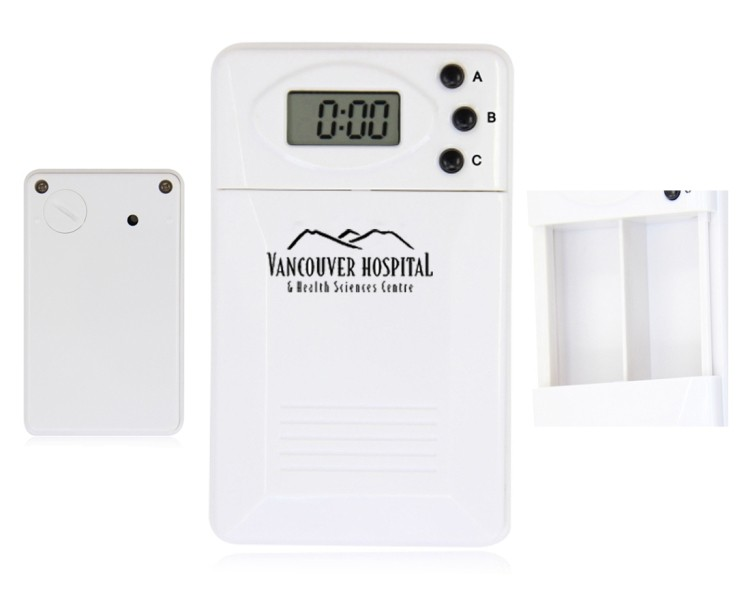 Pill Box with Digital Timer and Alarm