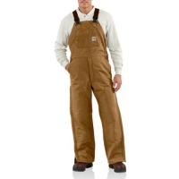 Carhartt 101626 Flame Resistant Duck Bib Overall