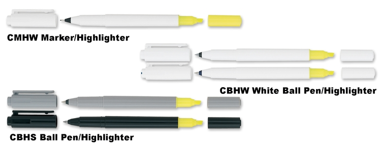 uni-ball Combi Multi-Function Highlighter and Ballpoint Pen or Marker