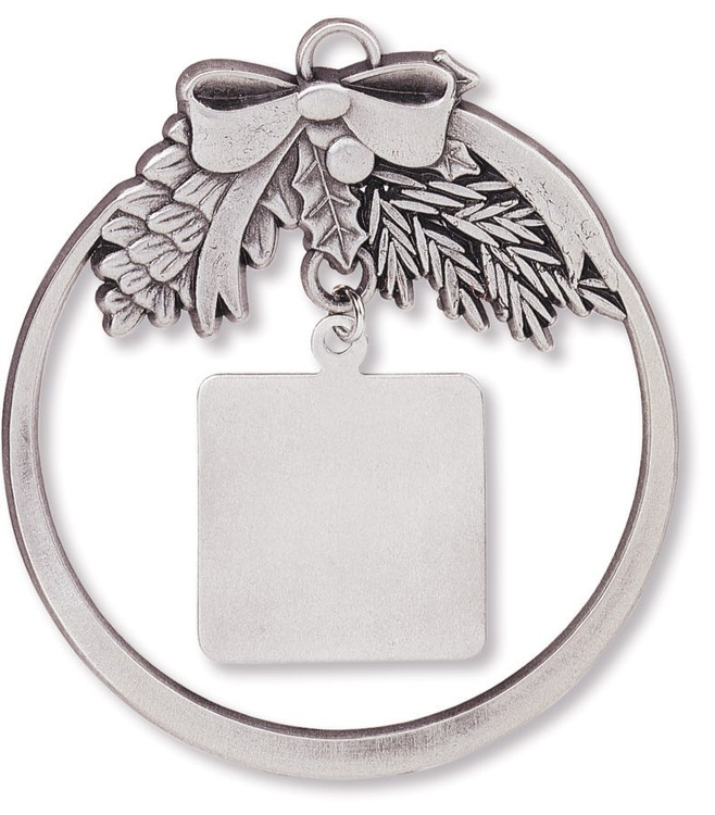 Charm Collection Ornament - Round