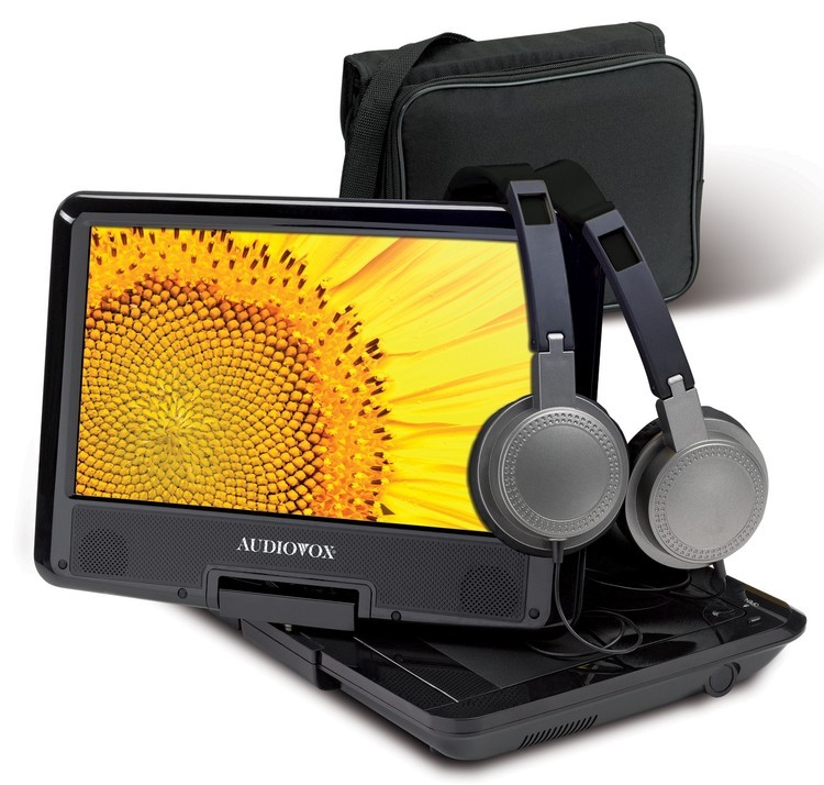 Audiovox Portable 9 Swivel DVD Player with Kit