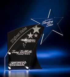 Black Tie Acrylic Awards - Black Tie Acrylic Awards
