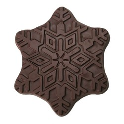 CHOCOLATE SNOW FLAKE LARGE
