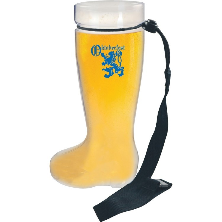 1 Liter Plastic German Boot Beer Mug