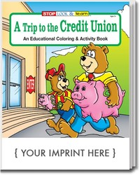 COLORING BOOK - A Trip to the Credit Union Coloring & Activity Book