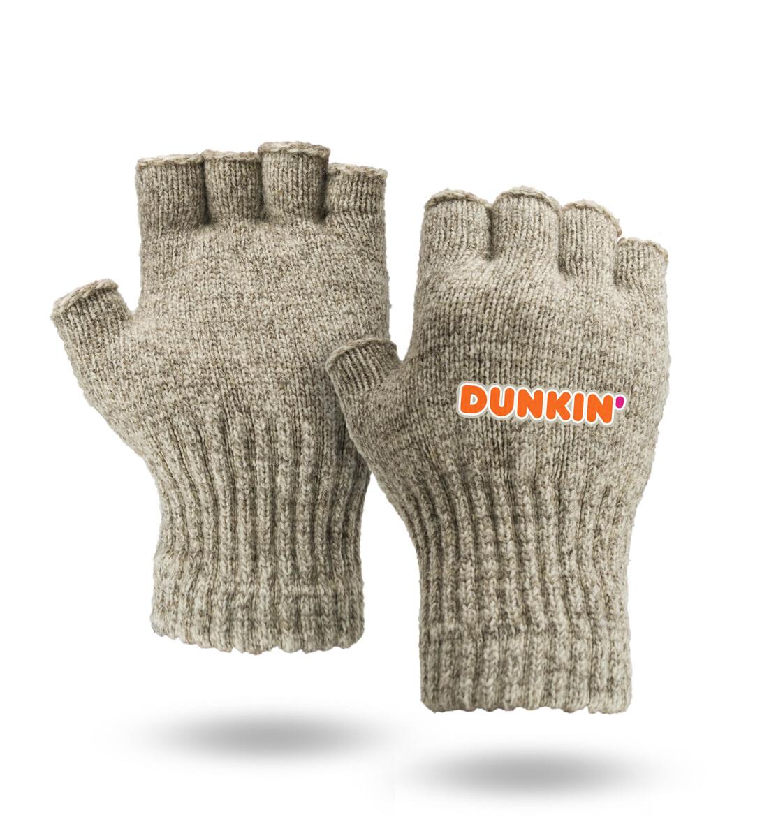 Fingerless Ragg Wool Gloves