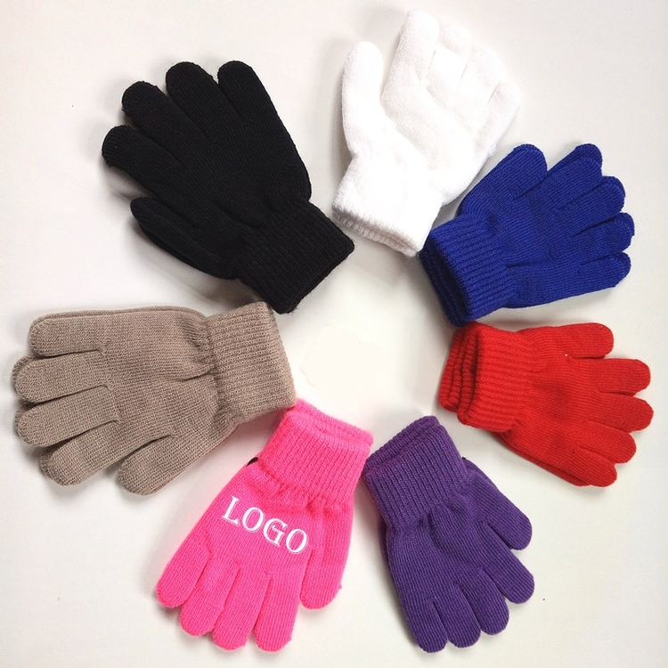 Acrylic Knitting Gloves/Winter Gloves/Knitted Glove