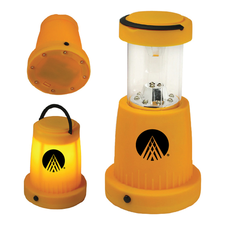 19 Led Rubberized Yellow Camping/Outdoor Lantern - 13652 ...