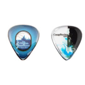 Guitar Pick / Plectrum, Standard Size with Double Dome Thickness