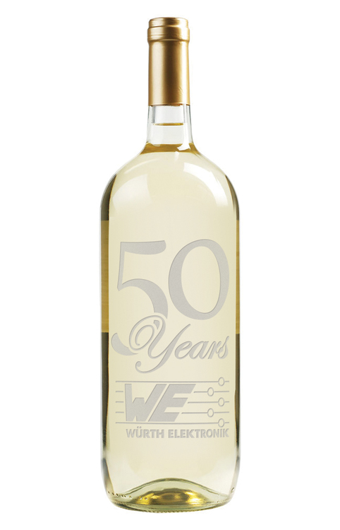 Etched Chardonnay White Wine 1.5L