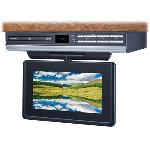 Audiovox 9 Drop Down Flat Panel TV w/ DVD