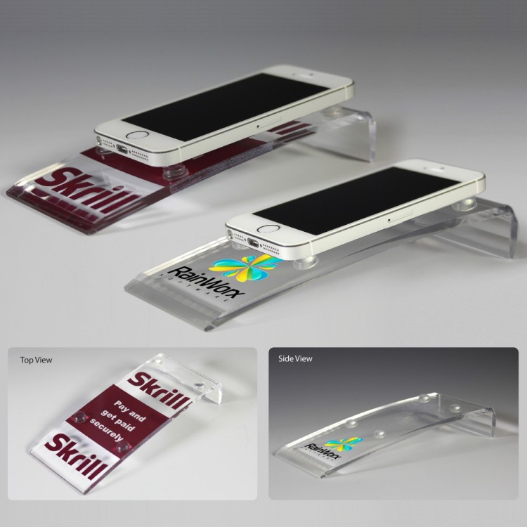Award Quality Acrylic Cell Phone Stand