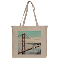 Jumbo Down to Business Cotton Tote