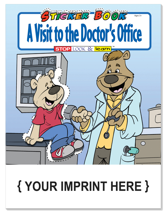 STICKER BOOK - A Visit to the Doctor's Office Sticker Book