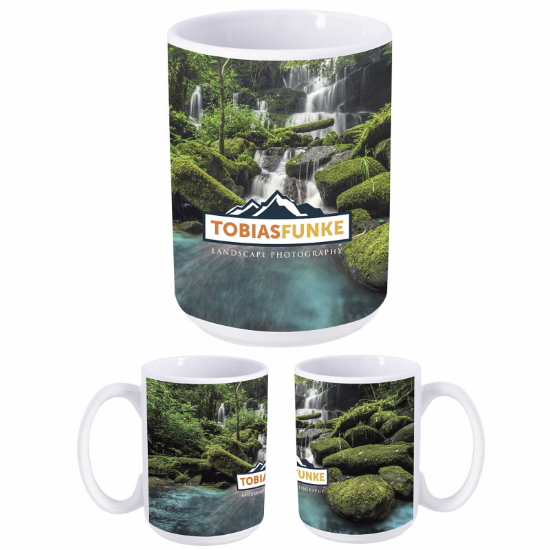 Dye Sublimation Mug - 15 oz