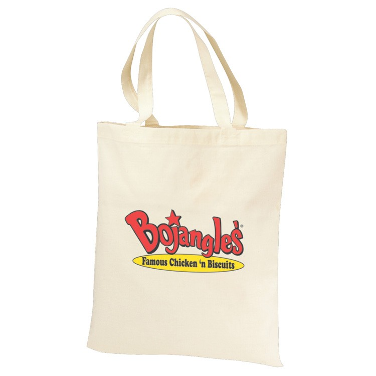 6 oz. Cotton Natural Canvas Tote Bag