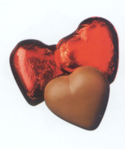Milk Chocolate Hearts - Express Collection