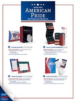American-themed promotional products that are Made in the USA