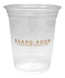 12 oz. Soft Sided White Plastic Cup