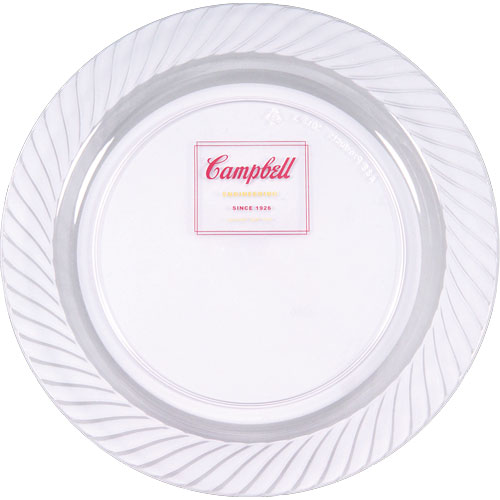 7.5 Clear Plastic Plate