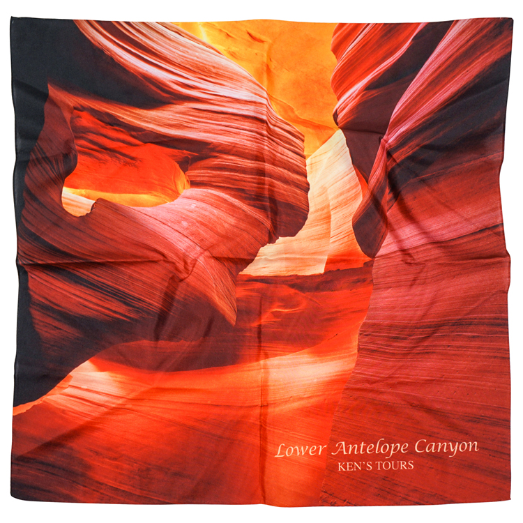 Full Color Deluxe Sublimated Bandana