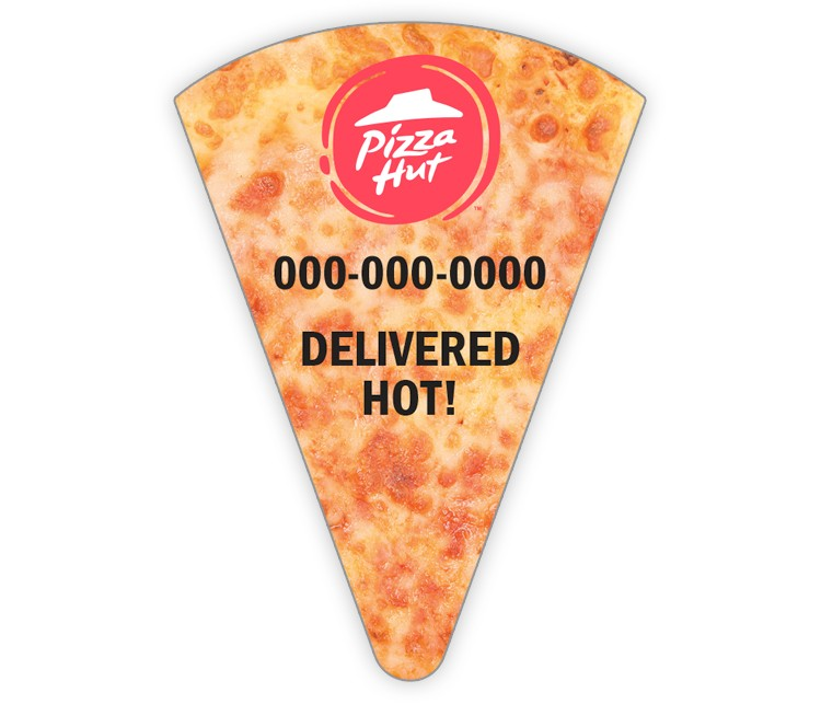 Pizza Hut Slice Magnet - Cheese