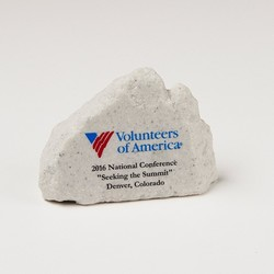 Small Mountain Rock Paper Weight
