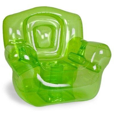 """Inflatable Chair, Green - 41""""W x 38""""H x 35""""D"""