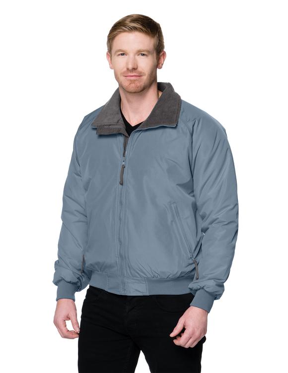 Nylon 3-season jacket with fleece lining.