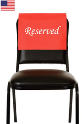 Banquet Chair Back Cover