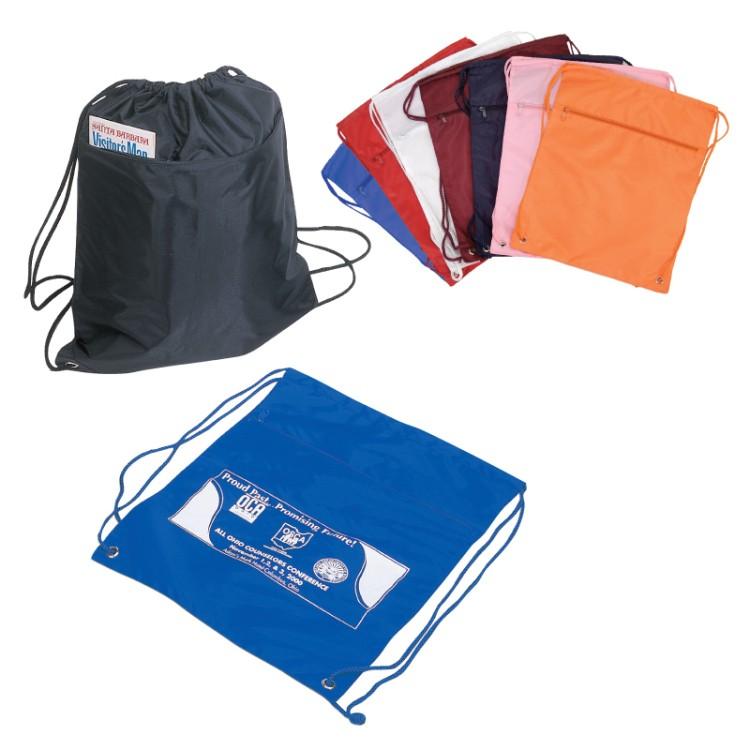 Deluxe Drawstring Tote Bag