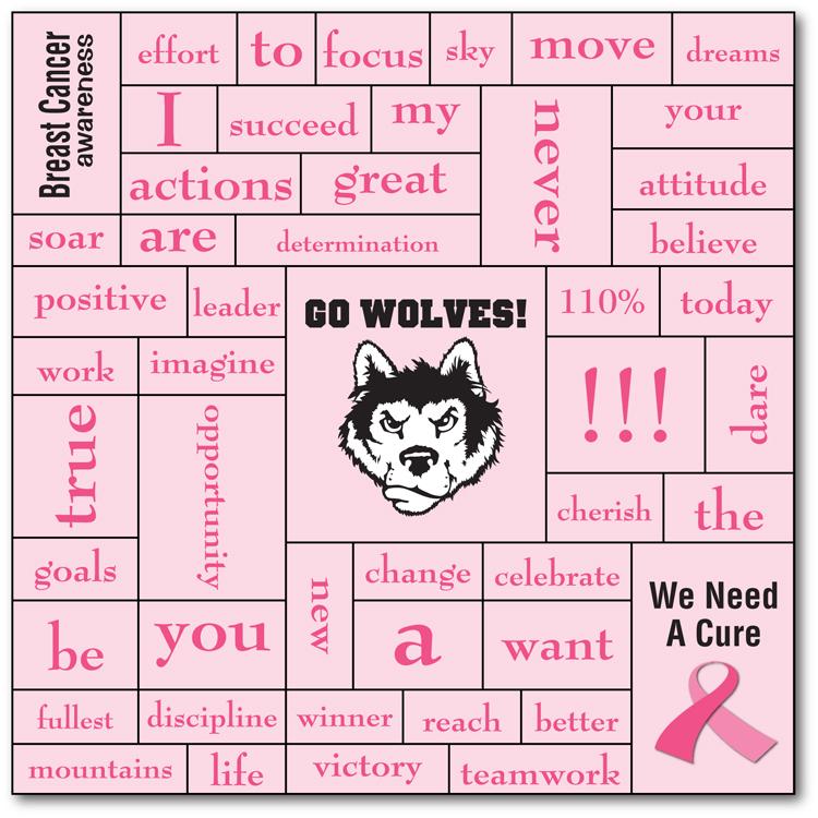 Awareness Magna-Phrase Magnet - 5.5x5.5 - 25 mil.