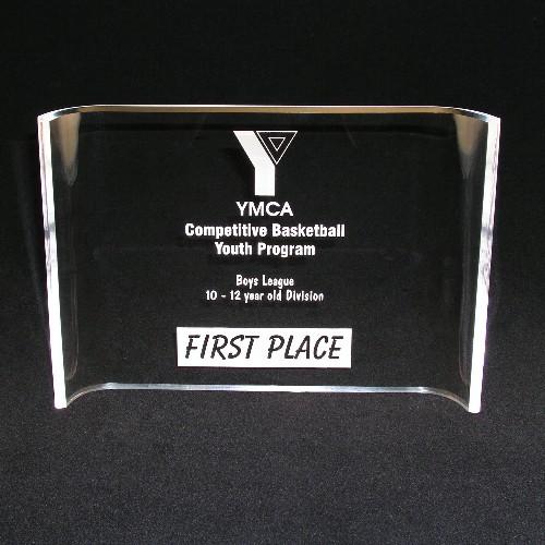 Majesty 7 Acrylic Crescent Award