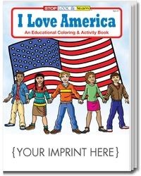 COLORING BOOK - I Love America Coloring & Activity Book