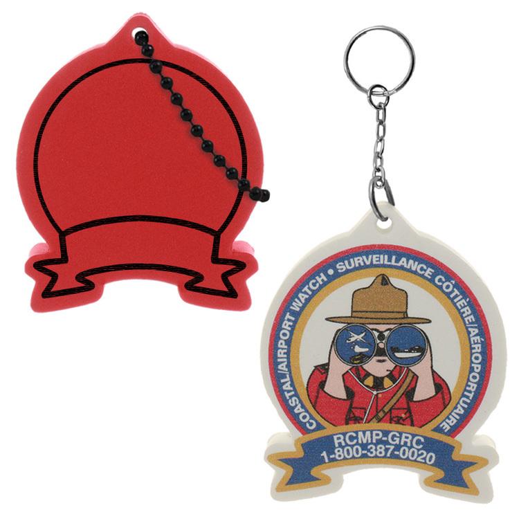 Badge Key Tag