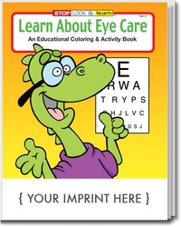 COLORING BOOK - Learn About Eye Care Coloring & Activity Book