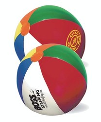 16 Multi-color Beach Ball - Beachball