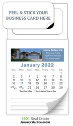 Magnetic Real Estate Calendar (MBC) - Jan. 2018 w/Cover