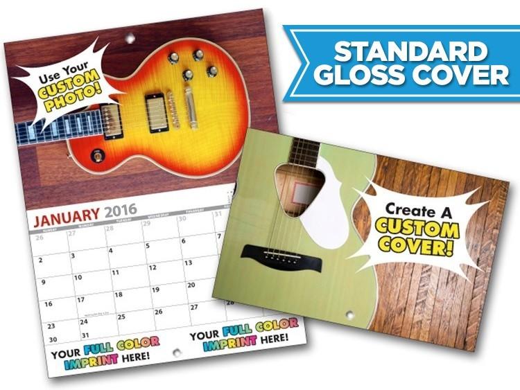 13 Month MINI Custom Photo Appointment Wall Calendar (5.5x8.5)-Standard Gloss Cover