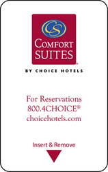 Comfort Suites Key Cards