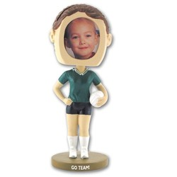 Girl's Volleyball Bobble Heads