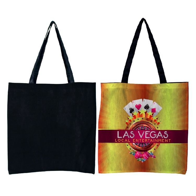 Flat Tote- Full Color on Front Only